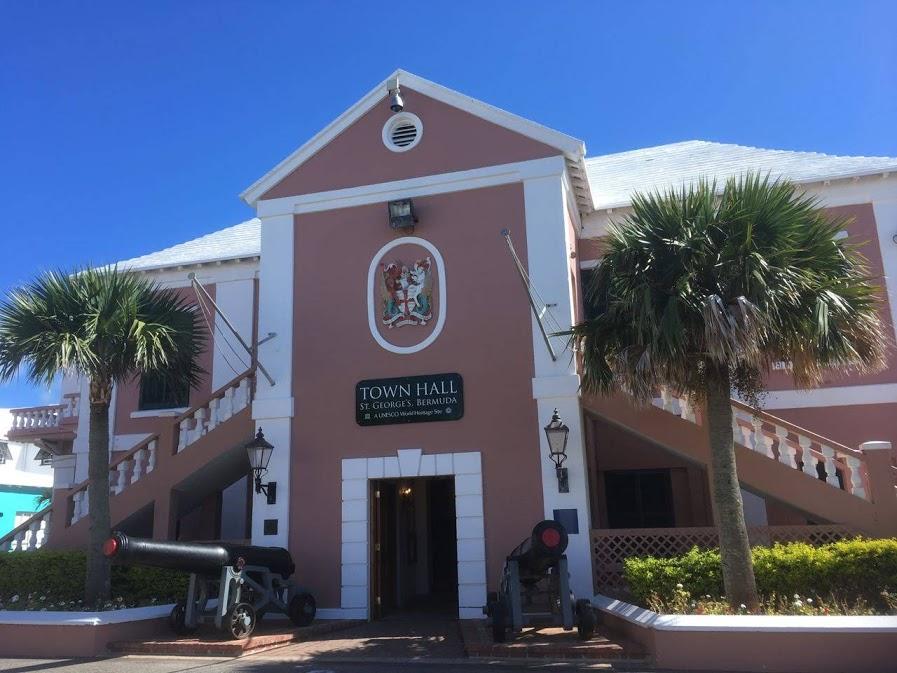 バミューダのタウンホール