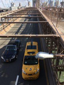 NYのタクシー・イエロキャブ