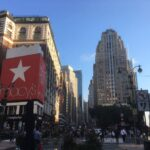 ニューヨークメイシーズ近辺の街並み