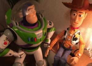 バズとウッディのおもちゃ
