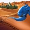 映画「アラジン」砂漠とジーニー