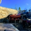 ユニバーサルスタジオのハリーポッター機関車