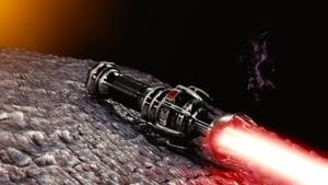 ダークサイドの赤いライトセーバー