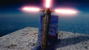 カイロレンの十字ライトセーバー
