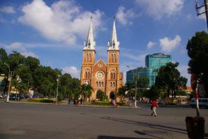 ベトナムのサイゴン大教会