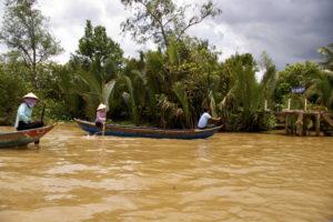 ベトナムメコン河ツアー川下り