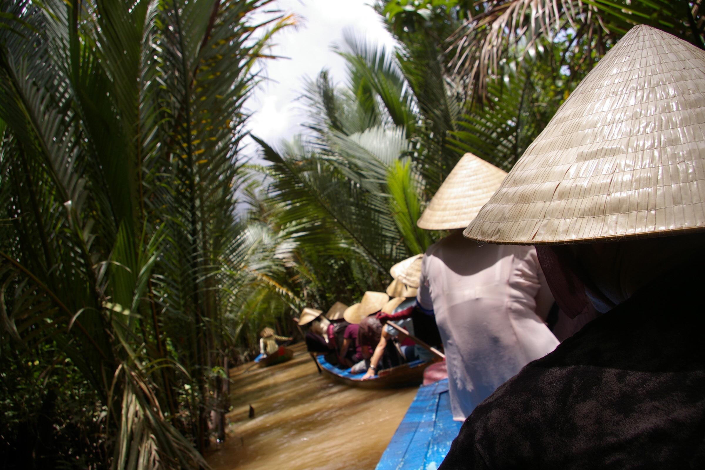 ベトナムメコン河ツアーの体験
