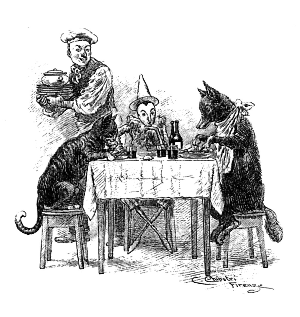 カルロコロッディ作ピノキオ原作の挿絵